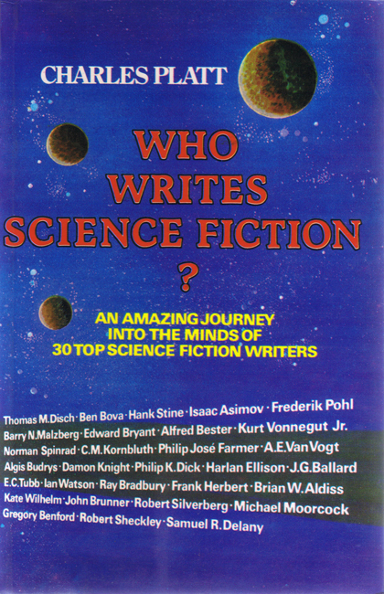 1981 <b><I>Who Writes Science Fiction?</I></b>, Savoy trade p/b