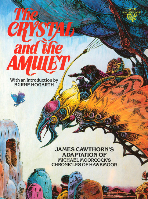 <b> Cawthorn, James — <I>The Crystal And The Amulet</I></b>, 1986