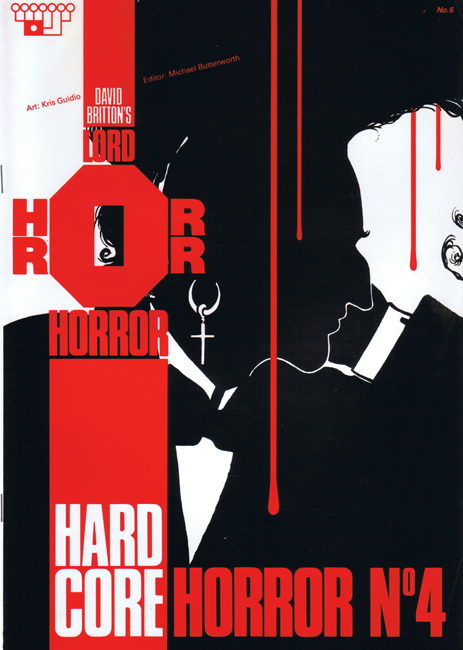<b><I>   Lord Horror </I> No.  6 — <I>Hard Core Horror</I> No. 4</b> (1990)