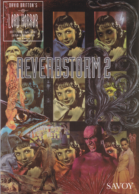 <b><I>   Lord Horror </I> No.  9 — <I>Reverbstorm 2</I></b> (1994)
