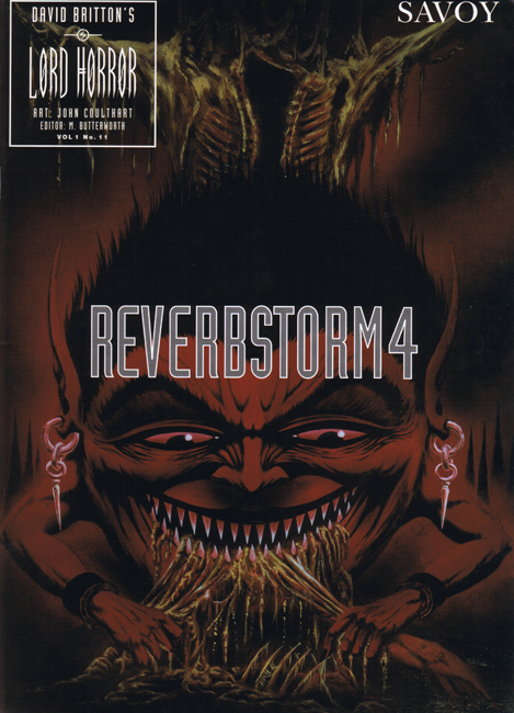 <b><I>   Lord Horror </I> No. 11 — <I>Reverbstorm 4</I></b> (1995)