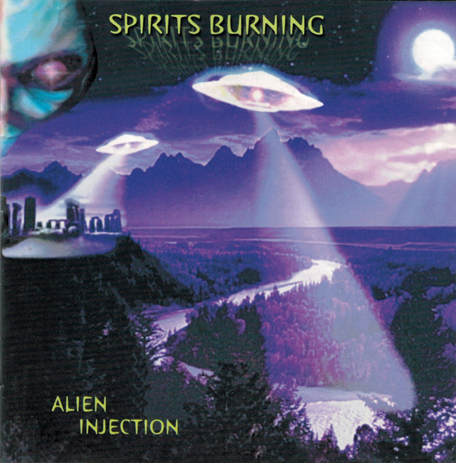 <i><b>Alien Injection</i></b>, by Spirits Burning, Black Widow C.D.