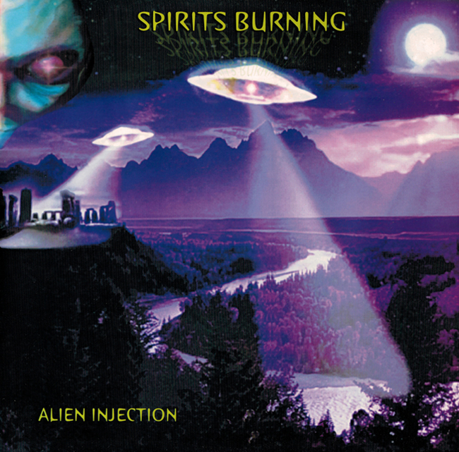 <i><b> Alien Injection</i></b>, by Spirits Burning, Black Widow L.P.