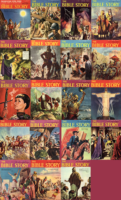 <b>    <I>Bible Story, The</I></b>  (<b>various issues</b>)