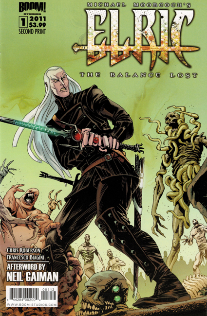 <b><I>Elric:  The Balance Lost </i></b> (#    <b>1</b> [reprint (exclusive cover)])