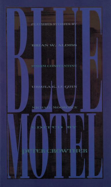1994 <b><i>Blue Motel</i></b>, White Wolf p/b