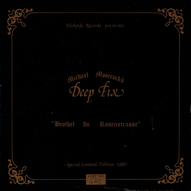 <i><b>              The Brothel In Rosenstrasse/Time Centre</i></b>, by Michael Moorcock's Deep Fix, Flicknife single <b>(Out of stock)</b>