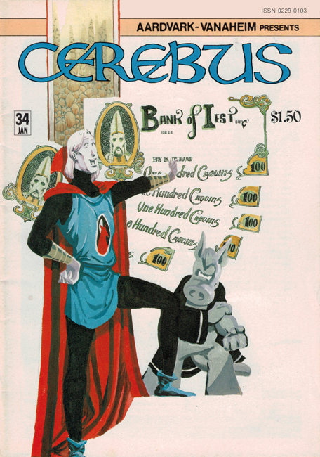 1982 <b><i>Cerebus The Aardvark</i></b> (#<b>34</b>)
