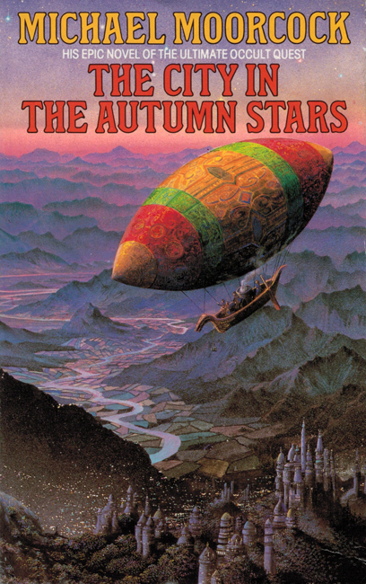 <b><i>The City In The Autumn Stars</i></b>, 1987, Grafton p/b