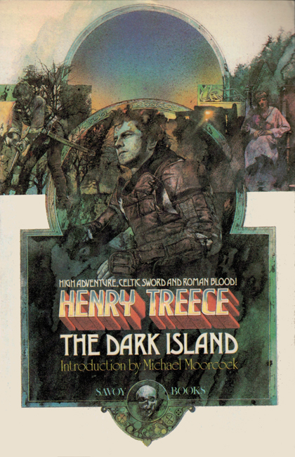 1980  <b><i>   The Dark Island</i></b>, by Henry Treece, Savoy trade p/b