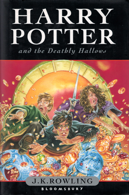 <b>   Rowling, J.K.:  <I>Harry Potter And The Deathly Hallows</b></I>, Bloomsbury, 2007 h/c