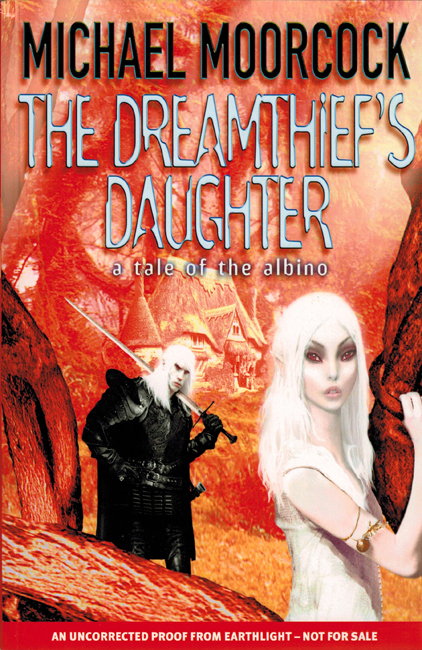 <b><I>   The Dreamthief's Daughter</I></b>, 2001, Earthlight proof trade p/b