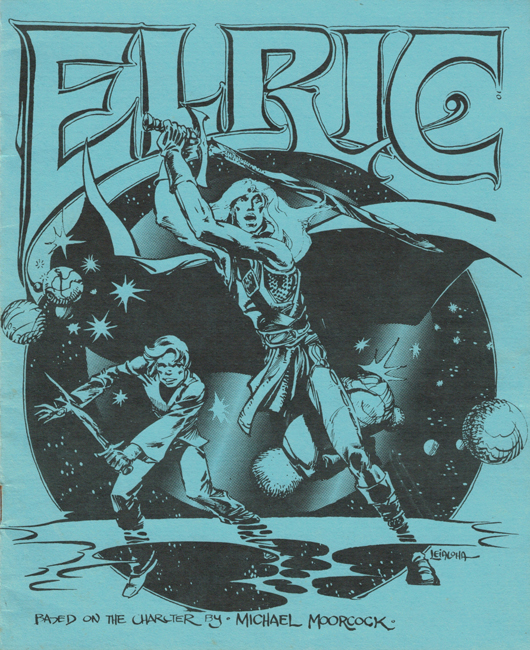 1977 <b><I>Elric</I></b>, by Greg Stafford, Chaosium, rôle-playing game