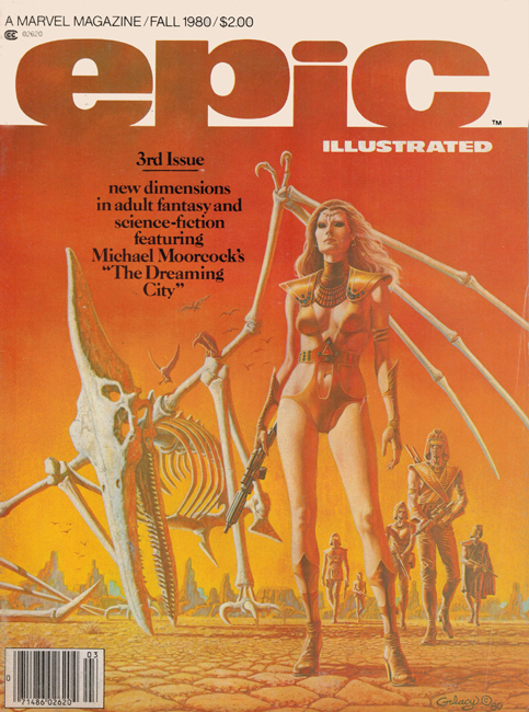 1980  <b><I>  Epic Illustrated</I></b> (#<b>3</b>)