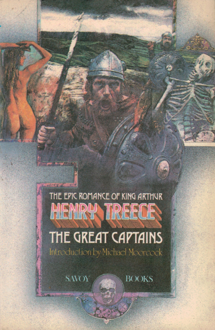 1980  <b><I> The Great Captains</I></b>, by Henry Treece, Savoy trade p/b