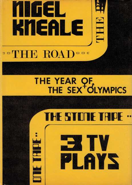 <b>    Kneale, Nigel: <i>The Year Of The Sex Olympics And Other TV Plays</b></I>, Ferret Fantasy, 1976 h/c