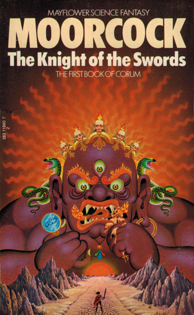 <b><I>The Knight Of The Swords</I></b>, 1974, Mayflower p/b