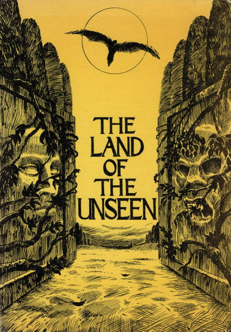 <b>    Locke, George</b> (ed.): <b><I>The Land Of The Unseen</b></I>, Ferret Fantasy, 1973 trade p/b
