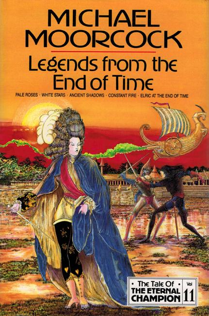 <b><I>Legends From The End Of Time</I></b>, 1993, Millennium h/c omnibus