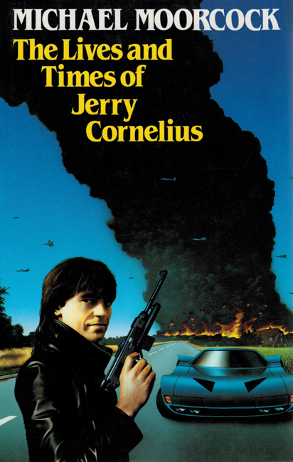 <b><I>  The Lives And Times Of Jerry Cornelius</I></b>, 1987, Harrap h/c <b>(expanded)</b>