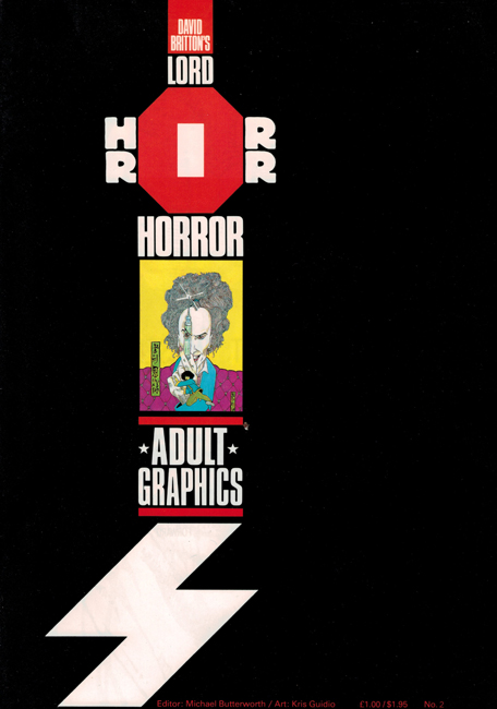 <b><I>   Lord Horror </I> No.  1</b> (1989)
