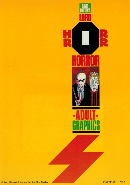 <b><I>   Lord Horror </I> No.  2</b> (1989)