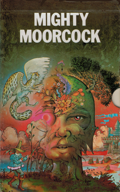 <b><i>Mighty Moorcock</i></b>, 1974, Quartet box set