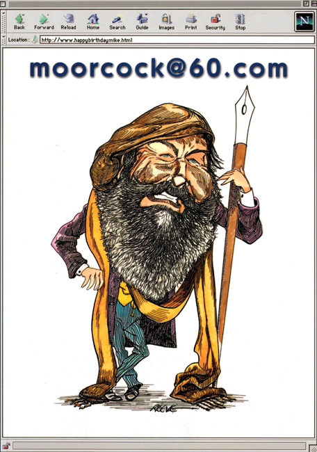 1999 <b><I>moorcock@60.com</i></b>, Jayde Design outsized p/b