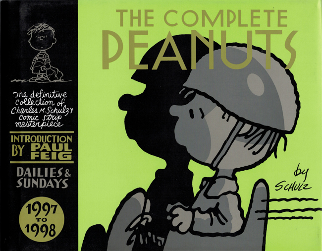 <b>   Schulz, Charles M.:  <I>The Complete Peanuts 1997-1998</b></I>, Canongate, 2015 outsized h/c