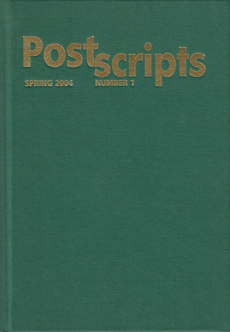 <b>   <i>Postscripts</i></b> (# <b>1</b>), ed. Peter Crowther, P.S. Publishing, 2004 ltd. ed. h/c