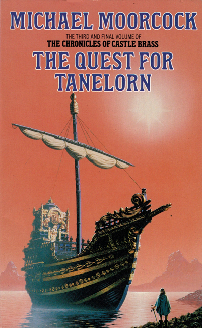 <b><I>The Quest For Tanelorn</I></b>, 1988, Grafton p/b