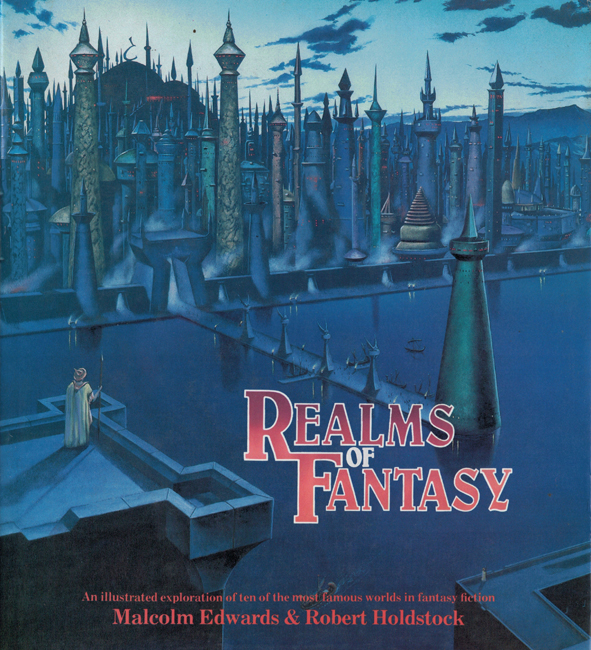 1986 <b><I>Realms Of Fantasy</I></b>, Guild Publishing outsized h/c