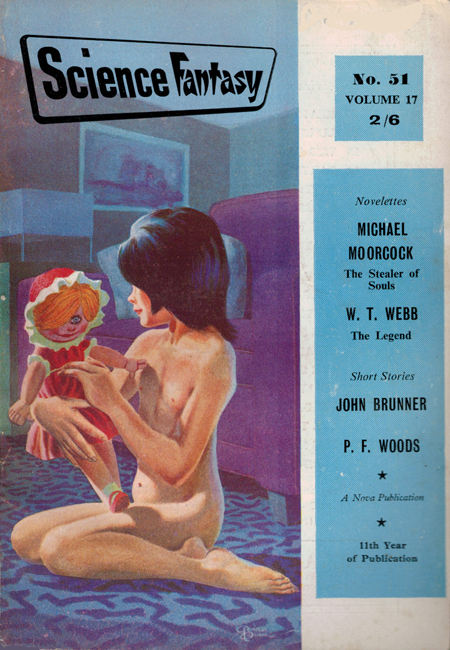 1962 <b><I>Science Fantasy</I></b> (#<b>51</b>)