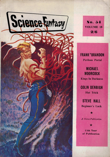1962 <b><I>Science Fantasy</I></b> (#<b>54</b>)