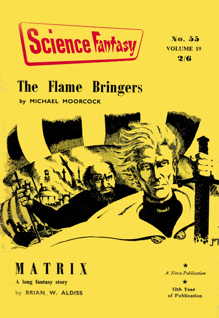 1962 <b><I>Science Fantasy</I></b> (#<b>55</b>)