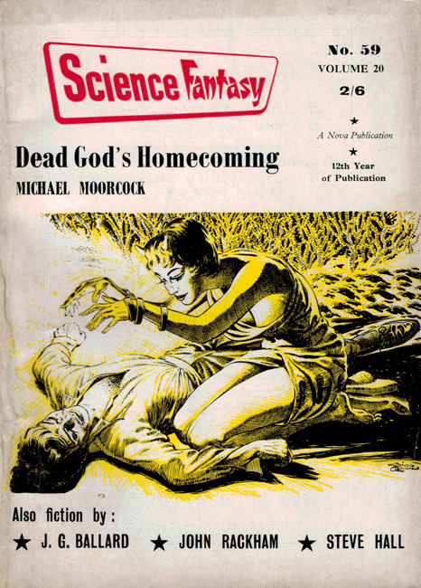 1963 <b><I>Science Fantasy</I></b> (#<b>59</b>)