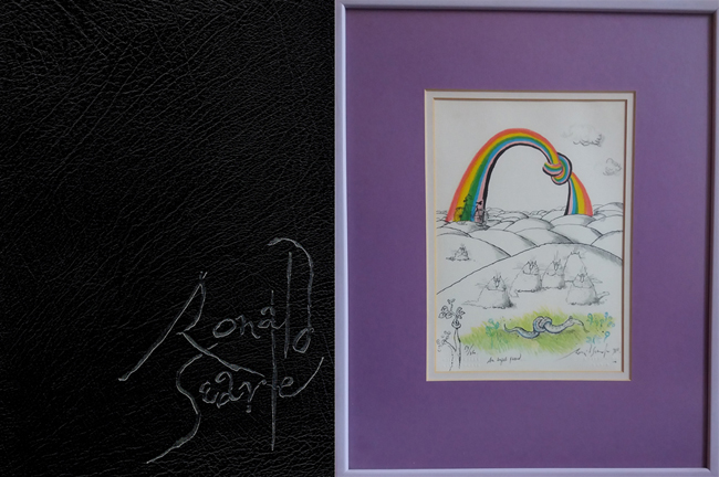 <b>   Searle, Ronald: <I>In Perspective</b></I>, NEL, 1984 outsized, slip-cased h/c, 1st ed. <b> (ltd. ed. + print)</b>