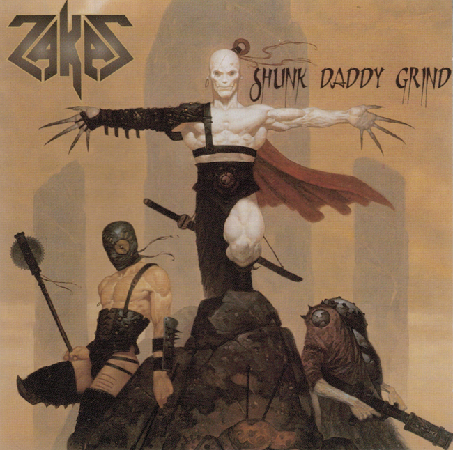 <i><b>     Shunk Daddy Grind</i></b>, by Zakas, McC. Records C.D.