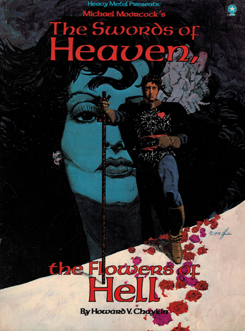<b><I>The Swords Of Heaven, The Flowers Of Hell</I></b>, 1980, with Howard V. Chaykin, Star outsized p/b