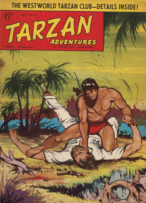 1957 <b><I>Tarzan Adventures</I></b> (<b>Vol. 7  No. 18</b>)