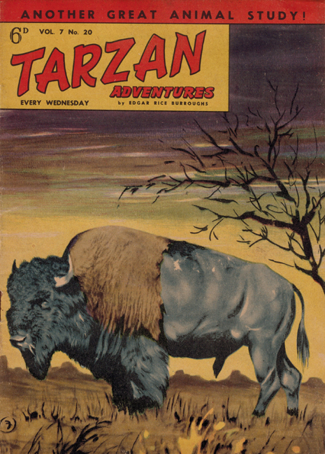 1957 <b><I>Tarzan Adventures</I></b> (<b>Vol. 7  No. 20</b>)