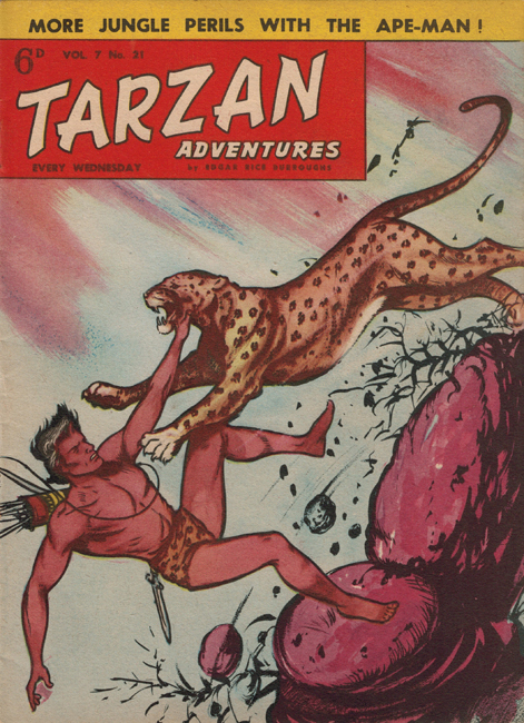 1957 <b><I>Tarzan Adventures</I></b> (<b>Vol. 7  No. 21</b>)
