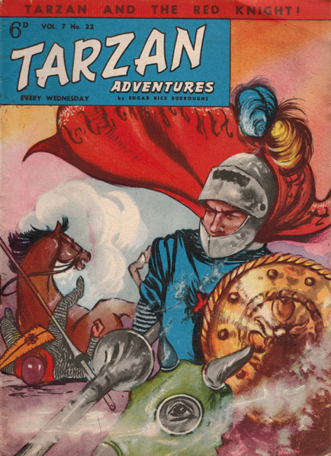 1957 <b><I>Tarzan Adventures</I></b> (<b>Vol. 7  No. 22</b>)
