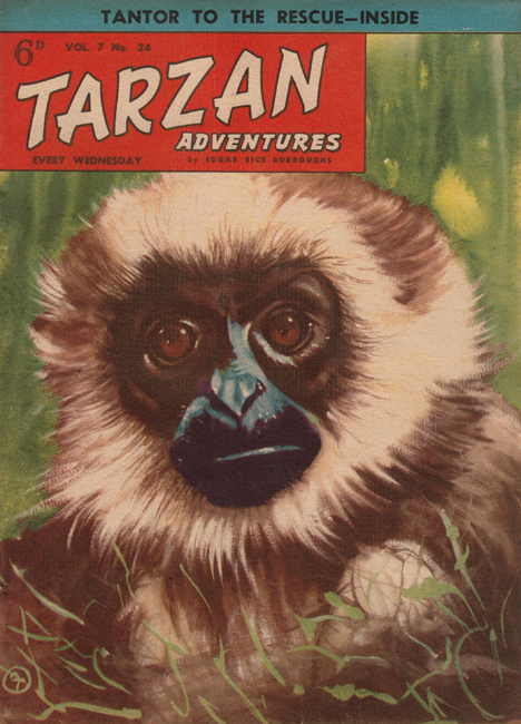 1957 <b><I>Tarzan Adventures</I></b> (<b>Vol. 7  No. 24</b>)