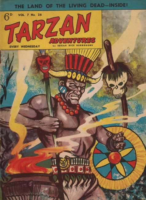 1957 <b><I>Tarzan Adventures</I></b> (<b>Vol. 7  No. 26</b>), ed. M.M.