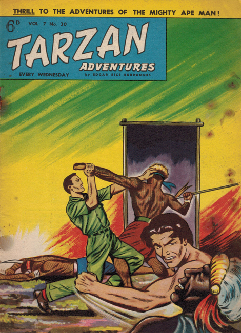 1957 <b><I>Tarzan Adventures</I></b> (<b>Vol. 7  No. 30</b>), ed. M.M.