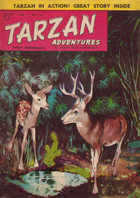 1957 <b><I>Tarzan Adventures</I></b> (<b>Vol. 7  No. 31</b>), ed. M.M.