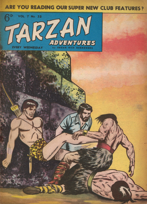 1957 <b><I>Tarzan Adventures</I></b> (<b>Vol. 7  No. 32</b>), ed. M.M.