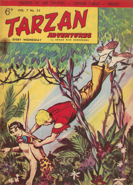 1957 <b><I>Tarzan Adventures</I></b> (<b>Vol. 7  No. 35</b>), ed. M.M.