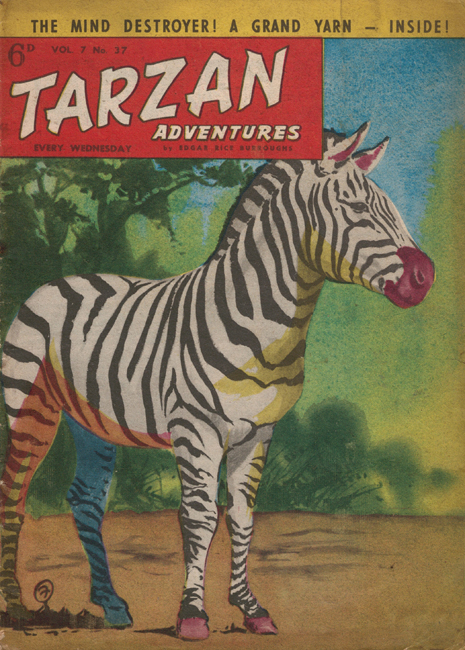 1957 <b><I>Tarzan Adventures</I></b> (<b>Vol. 7  No. 37</b>), ed. M.M.